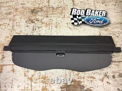 2015 thru 2019 Genuine Ford Edge OEM Ebony Vinyl Cargo Security Shade Cover