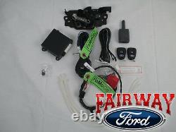 2017 Escape OEM Genuine Ford Remote Start & Security System Kit with Hood Latch