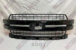 2018-2020 FORD F-150 Shadow Black Mica G1 OEM Genuine Ford Grille, JL3Z-8200-JN