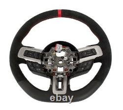 2018-2020 Shelby GT350R Genuine Ford Steering Wheel with Red Stitching & Sightline
