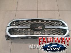 21 thru 22 F-150 OEM Genuine Ford Satin Aluminum Grill Grille PLATINUM MODEL