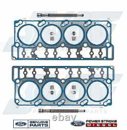 6.0L Powerstroke Diesel Genuine Ford OEM Pair of 18MM Head Gasket Kits VT365