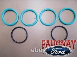 84 thru 94 OEM Genuine Ford 7.3 IDI Diesel Oil Cooler Kit with O-Rings & Gaskets