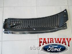 99 thru 07 F250 F350 F450 OEM Genuine Ford Parts Cowl Panel Grille RH & LH PAIR