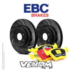 EBC Front Brake Kit Discs & Pads for Ford Focus Mk3 2.0 Turbo ST 250 2011