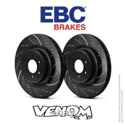 EBC GD Rear Brake Discs 271mm for Ford Focus Mk3 2.0 Turbo ST 250bhp 11- GD1832