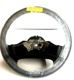 FORD OEM 92-1997 Ford F-150 F-250 F-350 Black Leather Steering Wheel F6TZ3600AAA