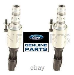 For Ford Pair Set of 2 Variable Camshaft Solenoid Adjust Genuine 8L3Z6M280B