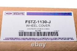 Ford F250 F350 Chrome Rear Wheel Cover Center Caps Set of 2 OEM NEW Genuine