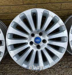 GENUINE OEM FORD MONDEO 17 5x108 ALLOY WHEELS X4 CONNECT FOCUS VOLVO