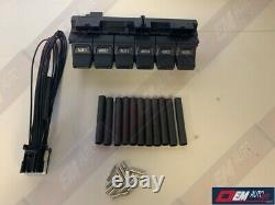 Genuine Ford OEM Upfitter Switch Assembly & Wiring Pigtail Harness
