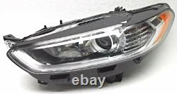 Genuine OEM Ford Fusion Pair of Headlamps DS7Z13008A DS7Z13008B Nice Used Lights