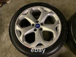 Genuine OEM Ford Mondeo Titanium 18 5x108 Alloy Wheels Connect Focus Volvo