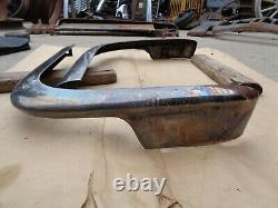 NOS 1957 Ford FRONT FENDER / GRILLE WING GUARDS Original FoMoCo Accessory pair