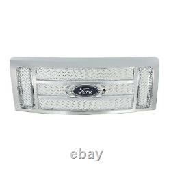 OEM Genuine NEW Ford Chrome Mesh Grille WithEmblem 2009-2014 F-150 CL3Z8200BB