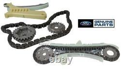 Set (2) New Genuine Ford Oem Explorer 4.0l V6 Sohc Cassette Timing Chains Set