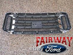 06 07 Super Duty F250 F350 F450 F550 Oem Genuine Ford Chrome Avec Calandre Noire
