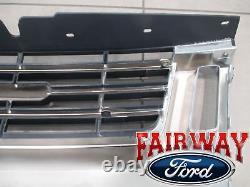 06 À 10 Explorer Eddie Bauer Edition Oem Genuine Ford Chrome Grille Grill Nouveau