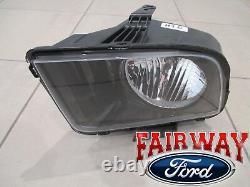 07 Thu 09 Mustang Gt Oem Véritable Ford Halogen Lampe De Tête Lumière À Gauche Nouveau Conducteur