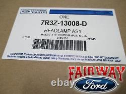 07 Thu 09 Mustang Gt Oem Véritable Ford Halogen Lampe De Tête Lumière Rh Passager Nouveau