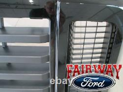 08 09 10 Super Duty F-250 F-350 Oem Genuine Ford Fx4 Ebony Grill Grille Withemblem