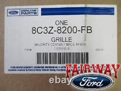 08 09 10 Super Duty F250 F350 Grille Grill Oem D'origine Ford Harley Davidson Nouveau