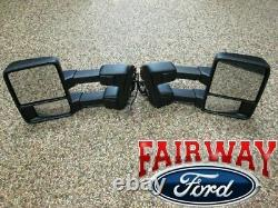 08 À Travers 16 F250 F350 Oem Ford Power Heat T / Signal Trailer Tow Mirrors Gas Engine