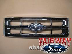 08 Thru 12 Escape Oem Pièces Ford Authentiques Grille Chrome Sans Emblem Nouveau