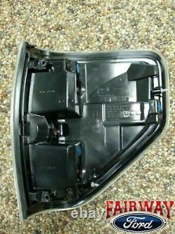 09 À Travers 14 F-150 Oem Genuine Ford Svt Raptor Black Tail Lights Lamps (paire De 2)