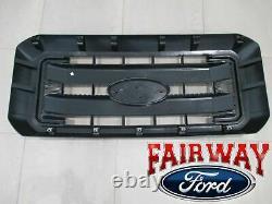 11-16 Super Duty F250 F350 F450 F550 Oem D'origine Ford Noir Grille Grill