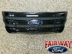 11 À 15 Explorer Sport Oem D'origine Ford Pièces Painted Black Grille Grill Nouveau