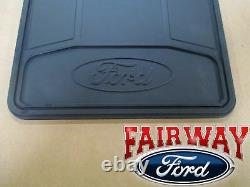 11 À Travers 14 F-150 Oem Genuine Ford Heavy Duty Splash Guards Mud Flaps 4-pc Set