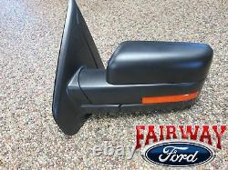 11 À Travers 14 F-150 Oem Genuine Ford Power Réglable Miroir De Signal Chauffé Gauche Nouveau