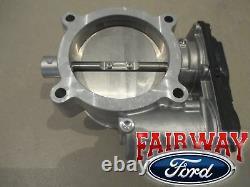 11 Thru 14 Mustang Gt Oem Véritable Ford Throttle Corps Avec Capteur Tps 5.0l V8 Nouveau