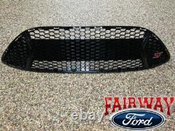 13 À 14 Focus St Oem Genuine Ford Parts Gloss Black Grill Grille Avec St Emblem