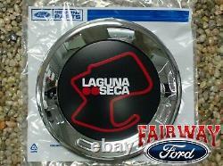 13 À Travers 14 Mustang Laguna Seca Red Oem Genuine Ford Faux Fuel Gas Cap Emblem