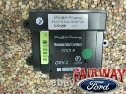 13 À Travers 16 Escape Oem Genuine Ford Parts Remote Start Kit 2 Fobs Pas De Programmation