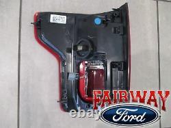 15-17 F-150 Oem Lampe Queue D'origine Ford Lumière Passager Rh Led W Tache Aveugle