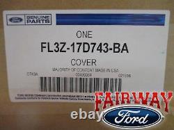 15 À 20 F-150 Oem Genuine Ford Parts Chrome Mirror Cover Skull Cap Ensemble De 2