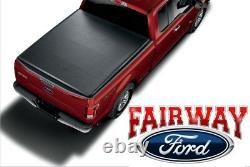 15 À 20 Ford F-150 Oem Genuine Ford Parts Soft Roll-up Tonneau Bed Cover 6.5