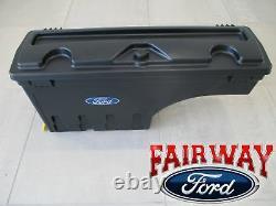 15 À 20 Ford F-150 Oem Véritable Ford Verrouillable Pivot De Rangement Boîte De Lit De Conducteur