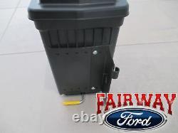 15 À 20 Ford F150 Oem Genuine Ford Lockable Pivot Storage Bed Box Passager