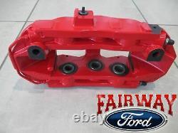15 À 20 Mustang Oem Véritable Ford 4 Pièces Brembo Red Caliper Kit Gt350r