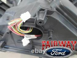15 À Travers 17 F-150 Oem Authentique Ford Chrome Led Lampes Frontales Paire De Rh & Lh