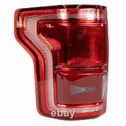 15 À Travers 17 F-150 Oem Genuine Ford Lh Driver Led Tail Lamp Light With Blind Spot