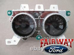15 À Travers 17 Mustang Oem Authentique Ford Boost & Oil Pressure Gauge Dash Cluster Pod