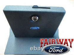 15 À Travers 20 F-150 Oem Genuine Ford Armrest Avec Split Bench Security Vault Gun Safe