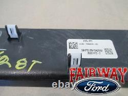 15 À Travers 20 F-150 Oem Véritable Ford Carbon Fiber Svt Raptor Dash Panneau Trim Plate