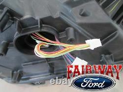 15 Thru 17 F-150 Oem Véritable Ford Chrome Led Phare De Tête Lumière Gauche Conducteur Nouveau