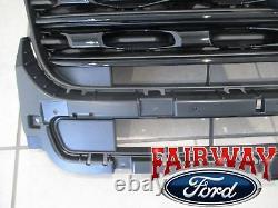 16 À 18 Explorer Oem Genuine Ford Sport Black Upper Grille Grill W Emblem Nouveau